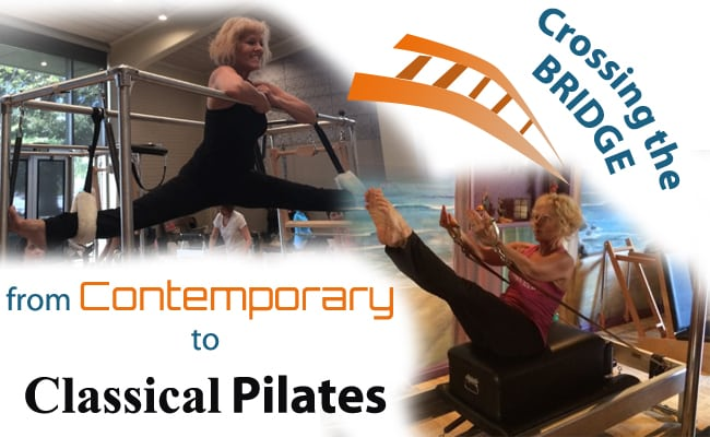 cross pilates bridge